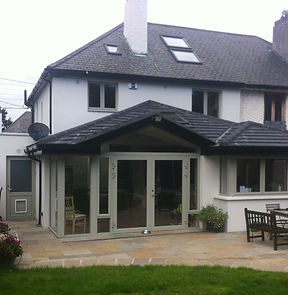 Renovation and extension in Co Dublin