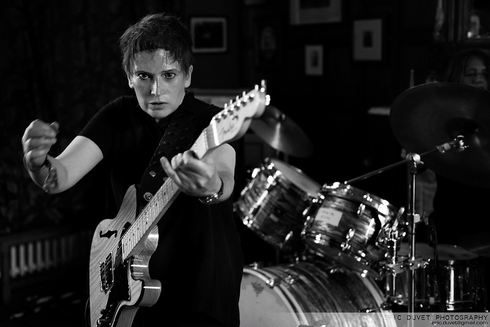 deux furieuses at Camden Rocks Festival by Eric Duvet