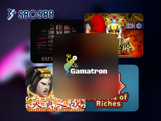 Gamatron เกมส์ค่ายใหม่น่าเล่น