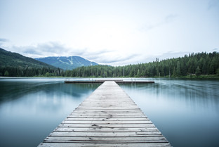 Lost Lake in Whistler, BC