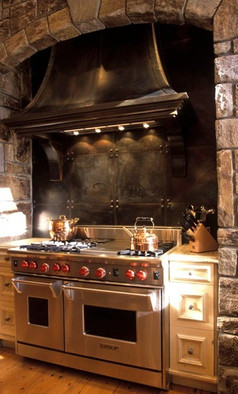 Custom Cabinetry for large stove