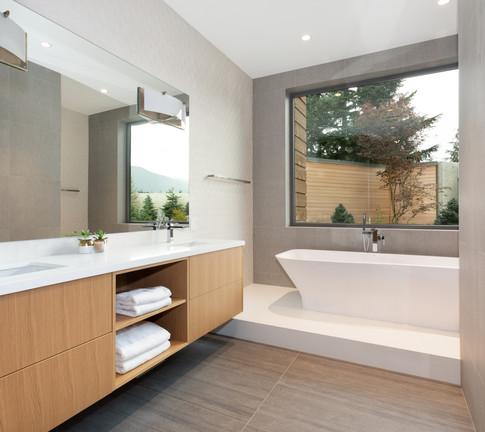 Modern Floating Bathroom Vanity by BIll Bagnall