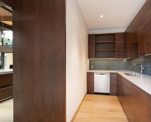 Custom Prep Kitchen in the Award winning Suncatcher Home.