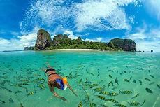 SNORKELING ISLANDS ALOE NATURAL POOL VILLA RESORT KRABI AO NANG