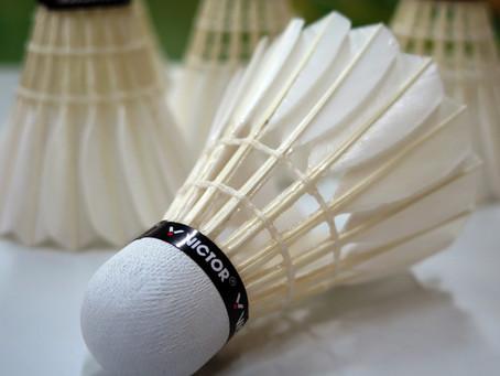Erstes Badminton in Oberberken