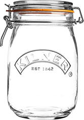Pote hermético em vidro, 1L