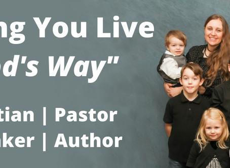 Common Sense Christianity. A conversation with Pastor Scott LaPierre