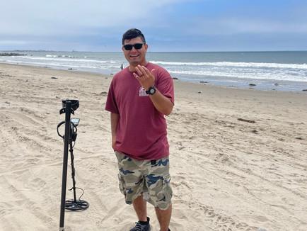 Lost Wedding Ring found at Ventura Beach