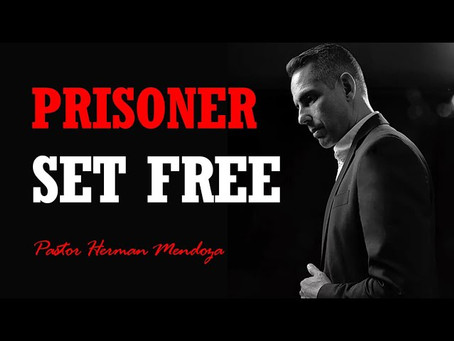 EYFPodcast- Prisoner Set Free. Exercise Your Faith to get out of the Shadows with Herman Mendoza