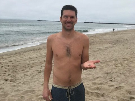 Lost wedding ring found Oxnard Shores Beach