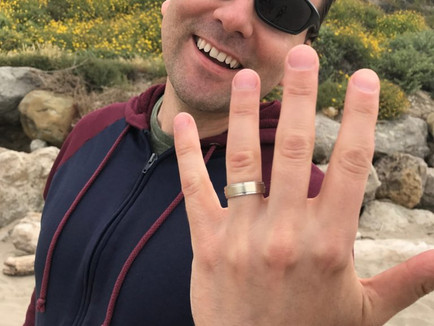 Lost Wedding Ring found Rincon Beach Carpinteria