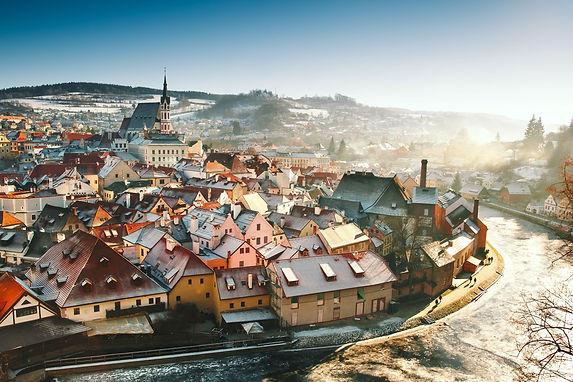 český krumlov zima balíček Adventní naladění
