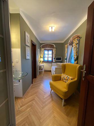 jednolůžkový pokoj v hotelu RomantiCK český krumlov