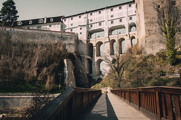 Cesky krumlov Plastovy most