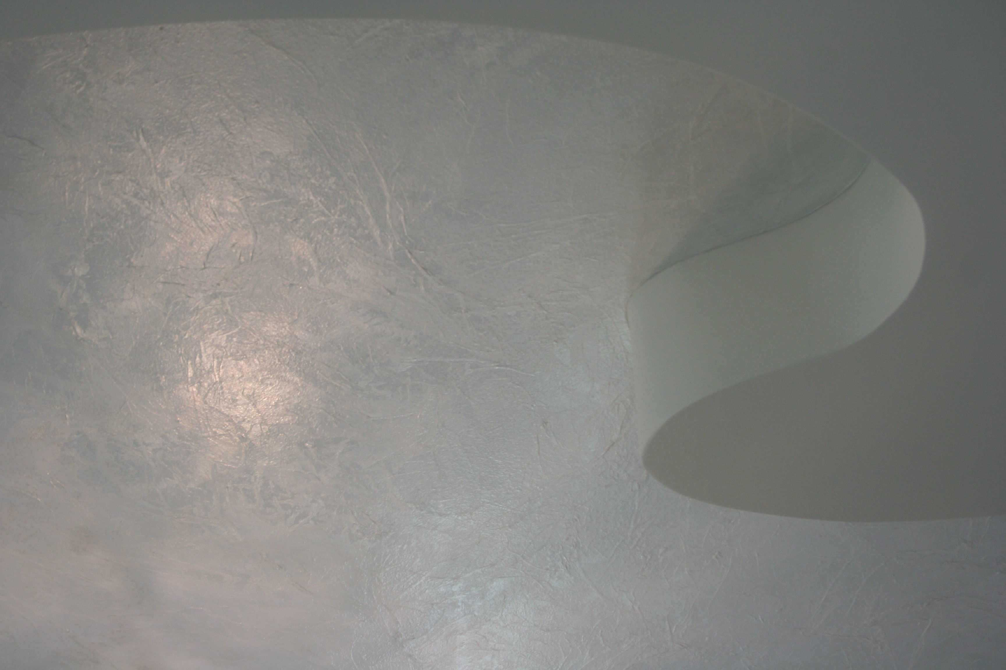 textured ceiling finish - detail