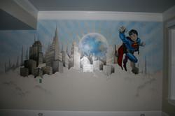 Super Boy Mural
