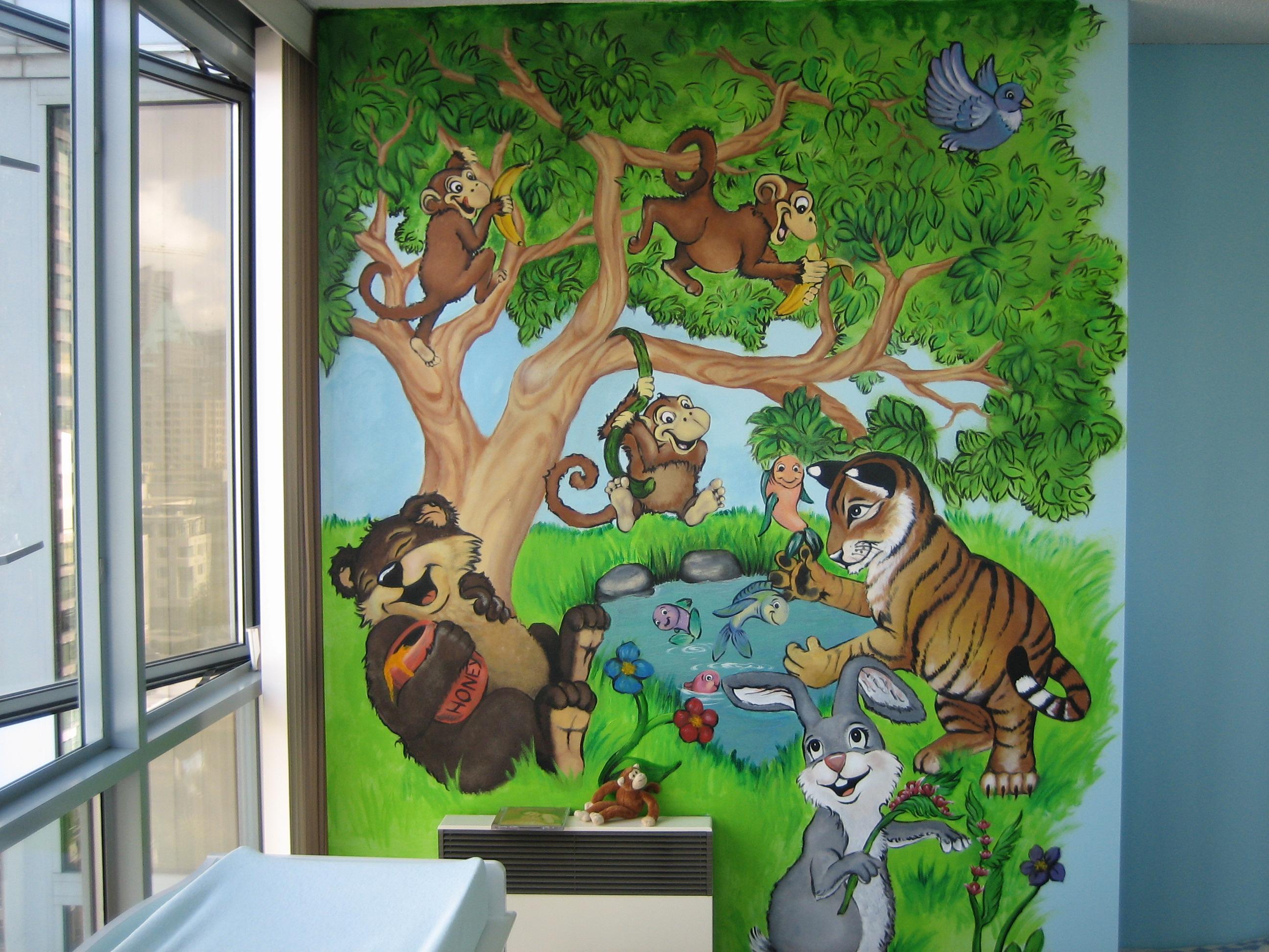 Baby Room Mural