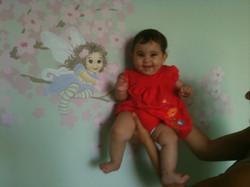 Baby Room Mural  - Detail