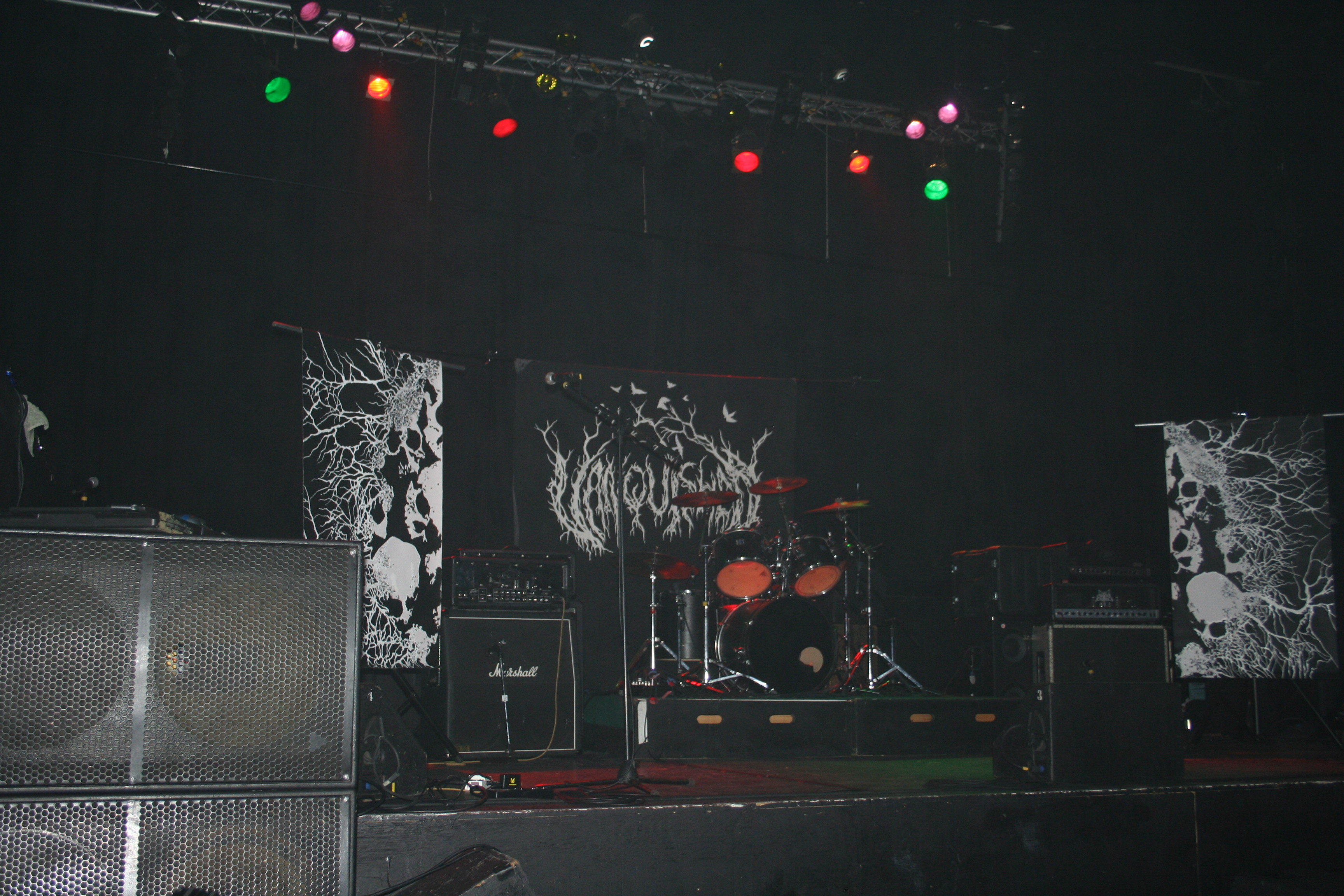 stage banners - Vanquished