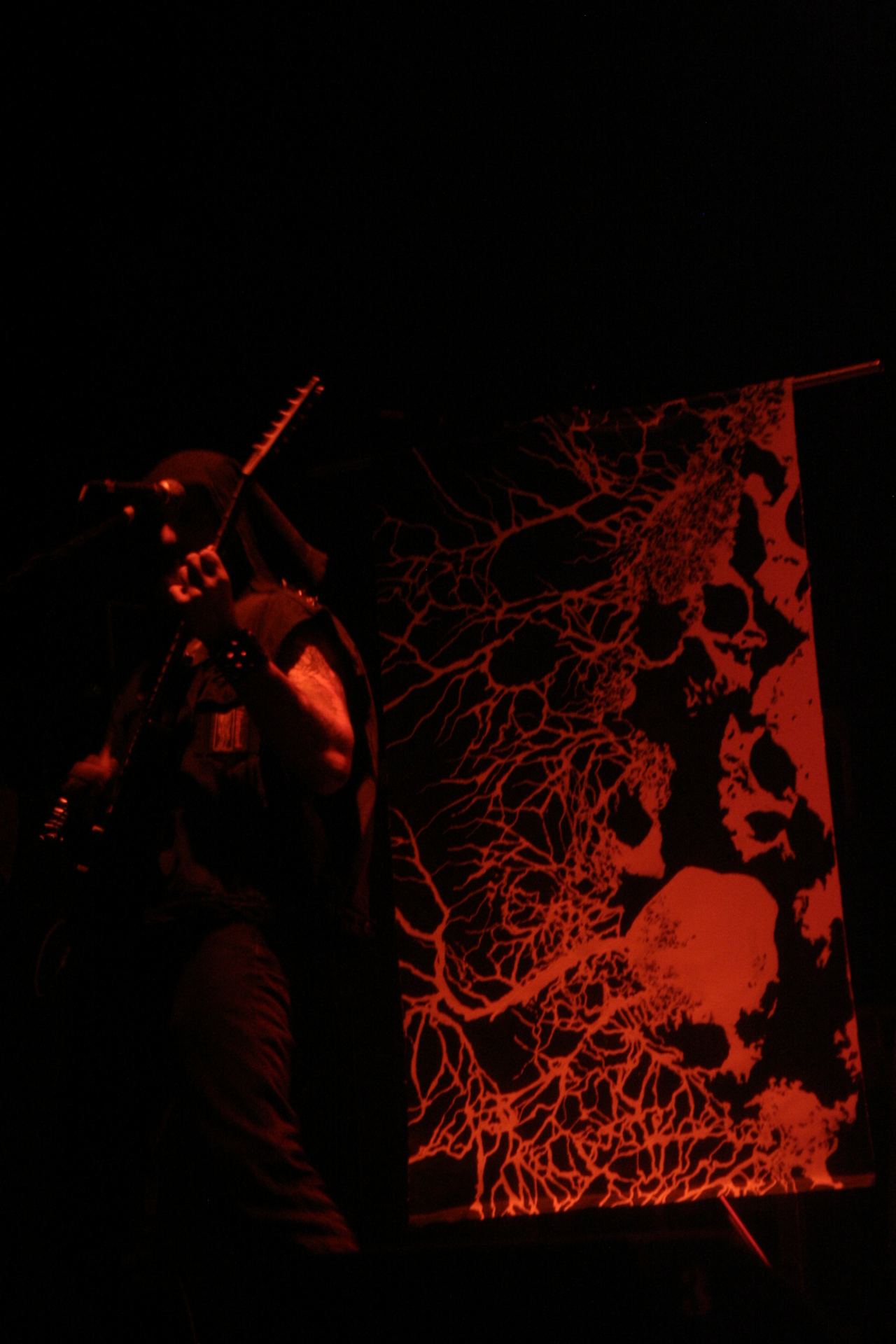 stage side banner - Vanquished