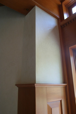 plaster wall finish - Squamish Res.