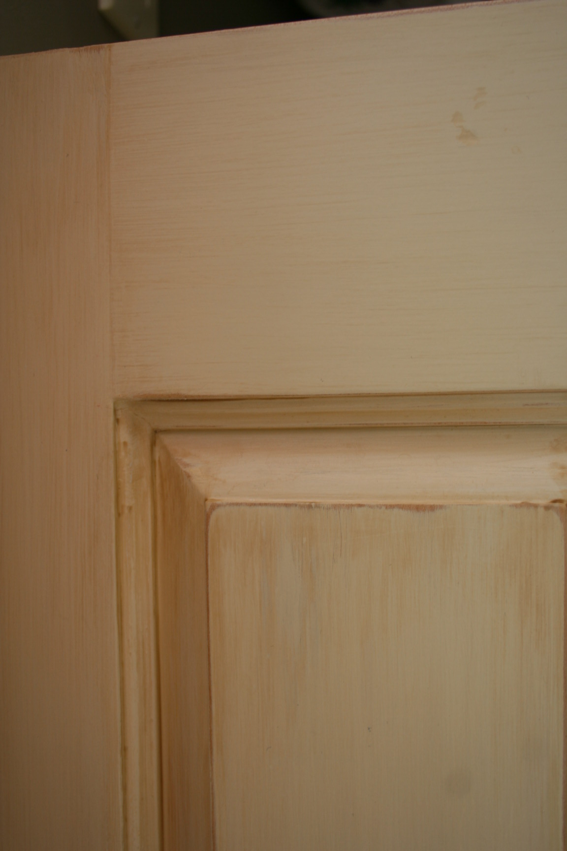 cabinet finish - detail
