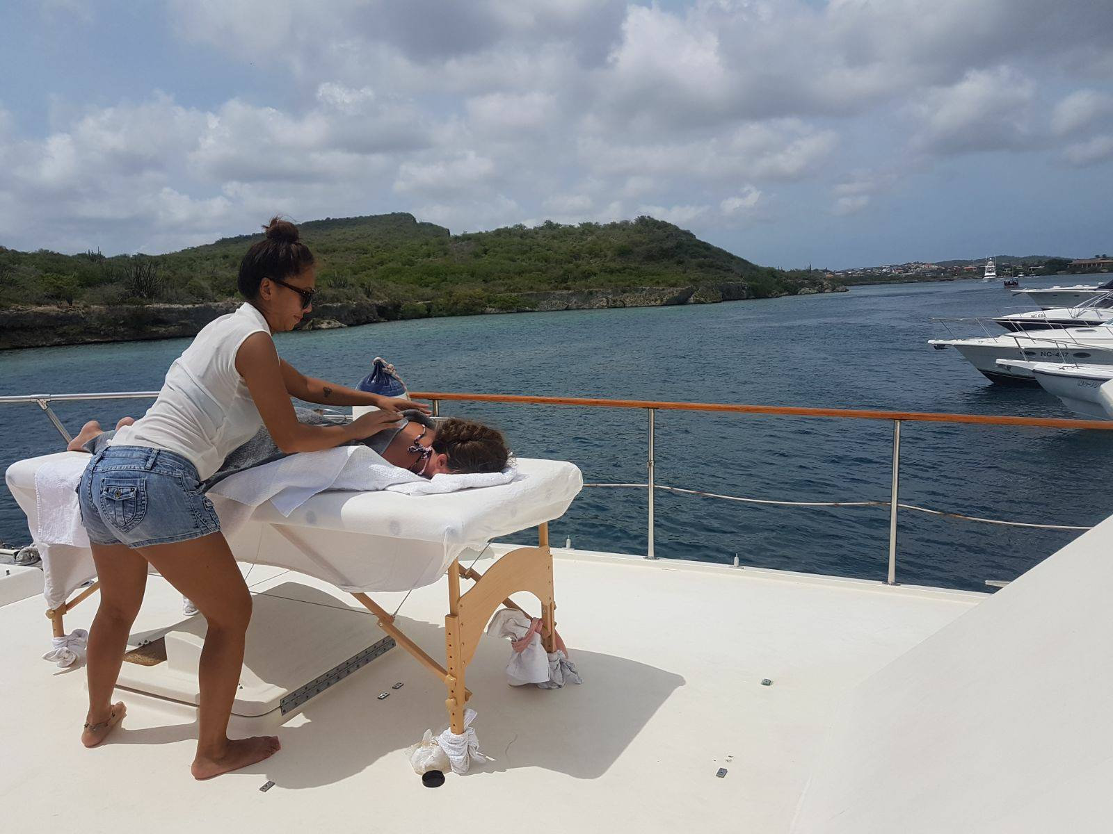 Massage on board