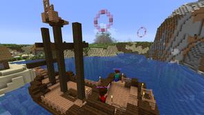 Structure Parkour Mapa para Minecraft 1.15.2