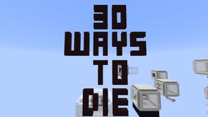 30 Ways To Die Mapa para Minecraft 1.8.9