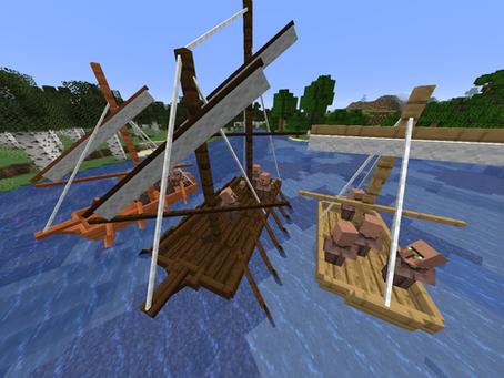 Small Ships Mod para Minecraft 1.16.5