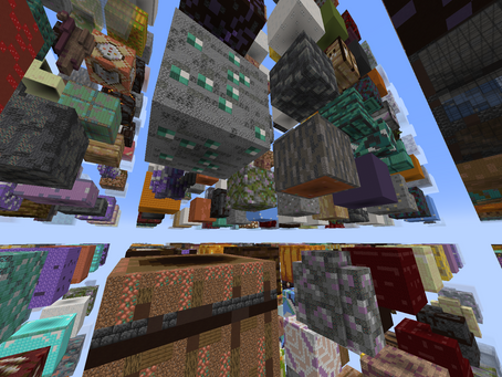 Mega Sky Grid Mapa para Minecraft 1.17.1