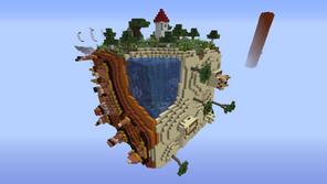 Square Planet Survival 2 Mapa Para Minecraft 1.14.4