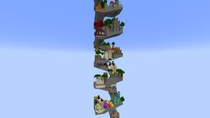 Parkour Helix Mapa para Minecraft 1.17.1
