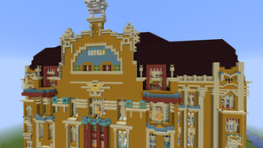 Redstone Hotel Mapa para Minecraft 1.15.2