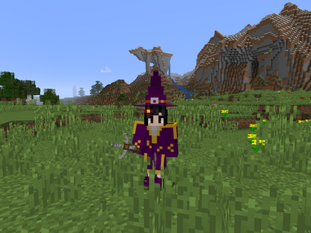 Wizard Staff Mod para Minecraft 1.16.4 / 1.15.2