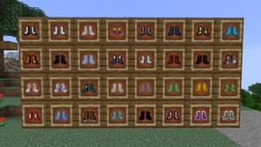 MoreBoots Mod para Minecraft 1.16.5