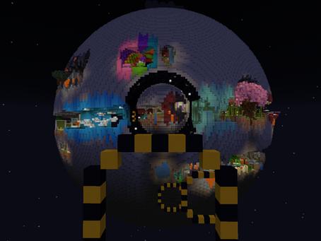 Planet Parkour 2 Mapa para Minecraft 1.16.5