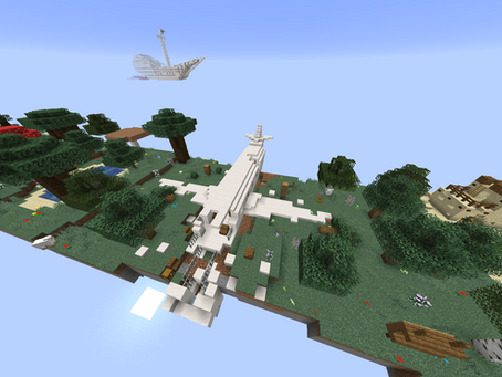 Fork Planet Survival Mapa para Minecraft 1.16.5 / 1.16.2