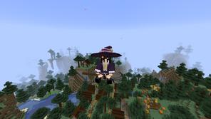 Majo's Broom Mod para Minecraft 1.17.1 / 1.16.5