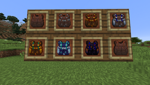 Packed Up (Backpacks) Mod para Minecraft 1.17.1 / 1.16.5 / 1.15.2 / 1.14.4 / 1.12.2