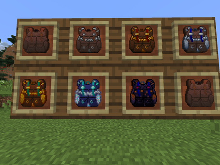 Packed Up Backpacks Mod para Minecraft 1.16.5 / 1.15.2 / 1.14.4 /1.12.2