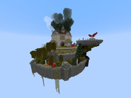 Castle In The Sky Mod para Minecraft 1.16.5