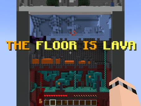 The Floor Is Lava Mapa para Minecraft 1.16.5