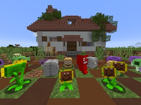 Plants vs Zombies Mod para Minecraft 1.15.2 / 1.12.2