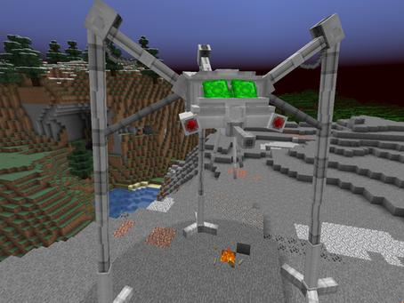 The War Of The Worlds Mod para Minecraft 1.15.2