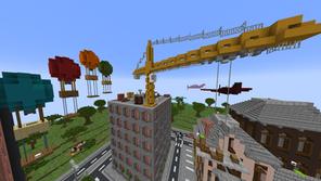 Parkour City Mapa para Minecraft 1.17