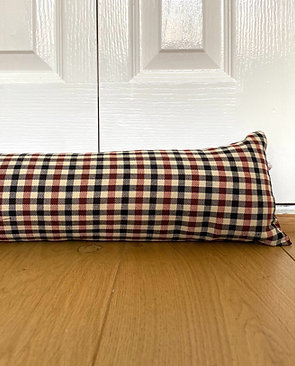 Draught excluder - Small checks made to measure draft stoppers