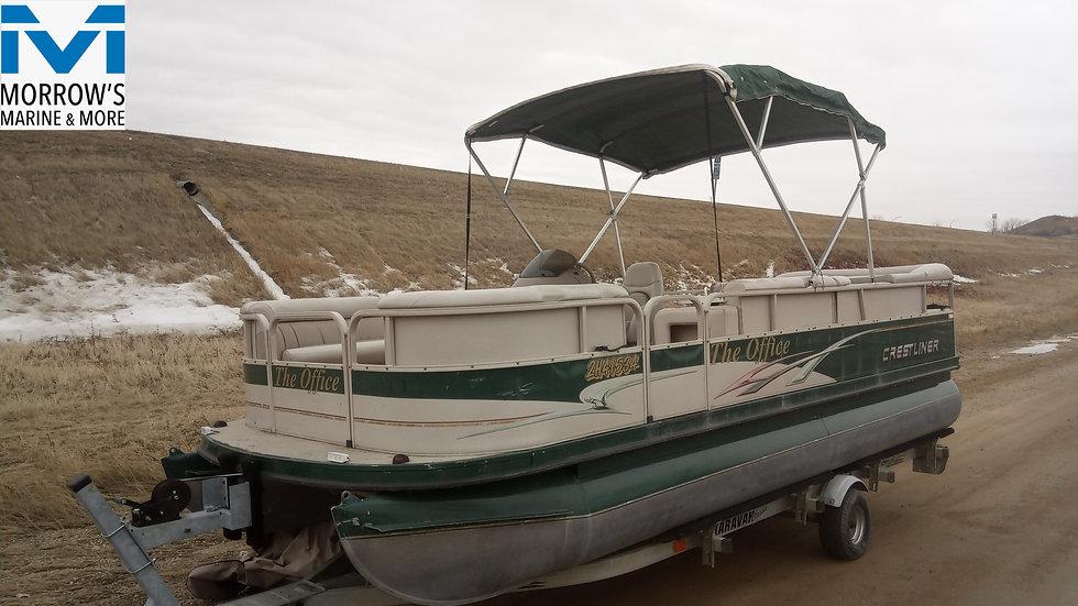 2003 Crestliner 2081 Sport LX Pontoon Boat