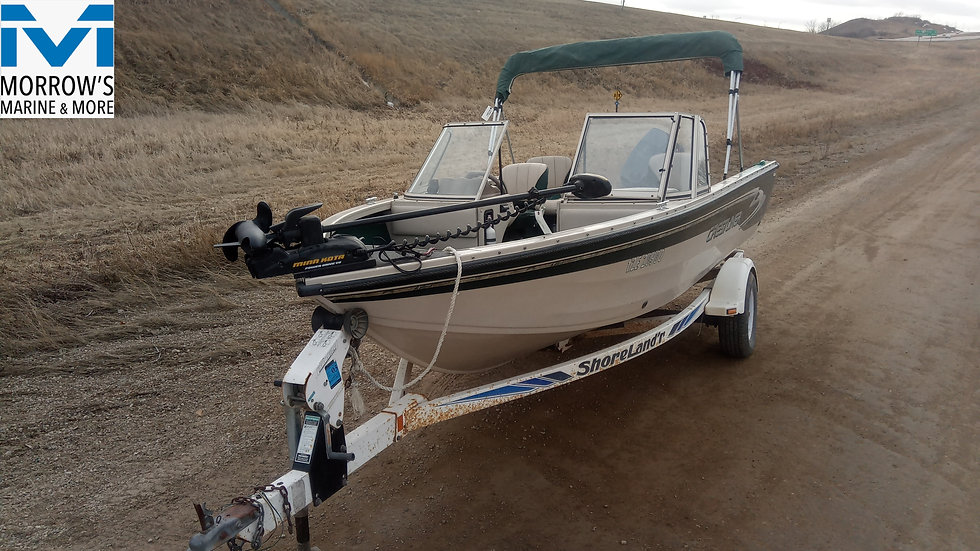1998 Fishing Boat - Crestliner Superhawk 1700