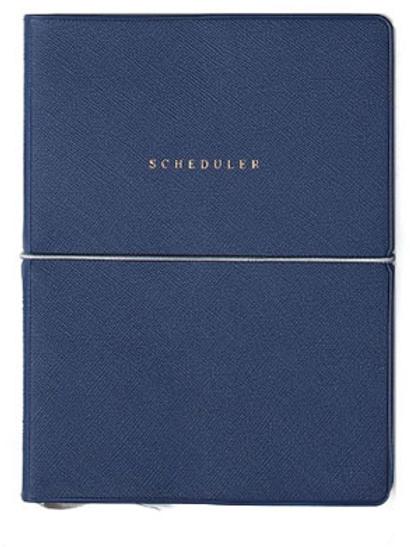 Scheduler book-navy